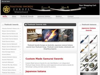 Thaitsuki swords store review