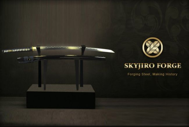 SkyJiro Ancient Iron Warrior katana review