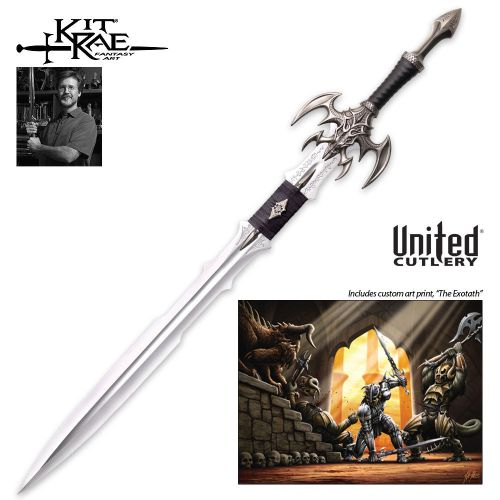 Kit Rae Exotath sword