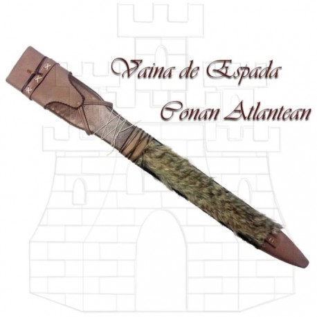 Conan Atlantean sword sheath by Marto