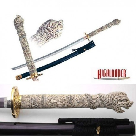 Highlander katana sword