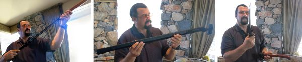 Steven Seagal sword collection