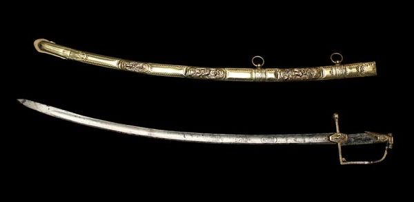 The most expensive sword-sword of Napoleon