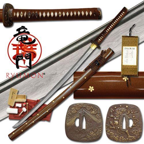 Ryumon Raijin Katana sword
