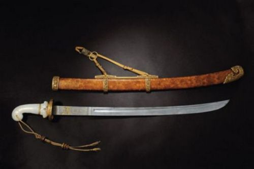 18th Century Boateng Saber of Chinese emperor Qianlong