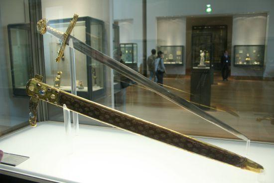 Joyeuse sword of Charlemagne-Louvre, Paris